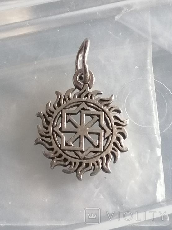 Кулон серебро 925 оберег, фото №7