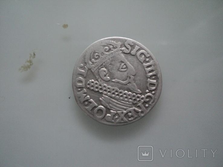 Трояк 1623 г, фото №3