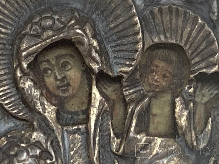 Миниатюрная икона. Серебро. 84 проба., фото №5
