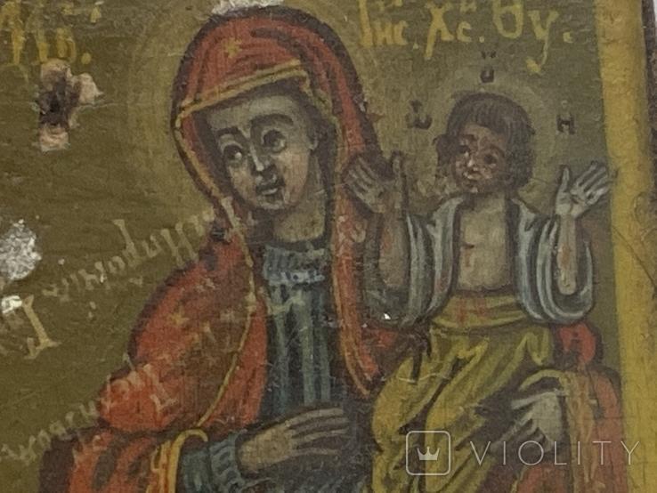 Миниатюрная икона. Серебро. 84 проба., фото №12