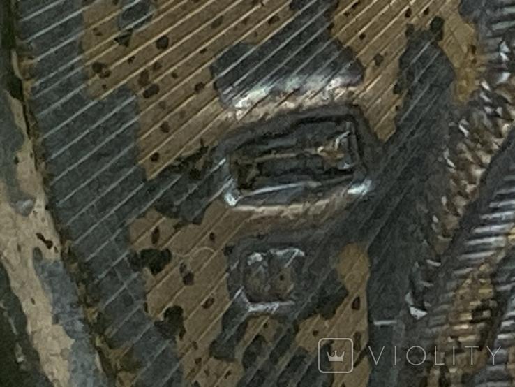 Икона миниатюрная. Серебро, фото №6