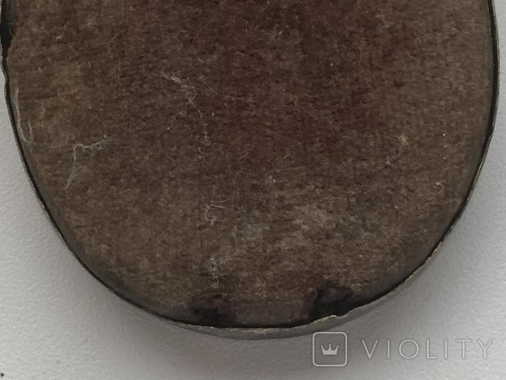 Икона миниатюрная. Серебро, фото №9