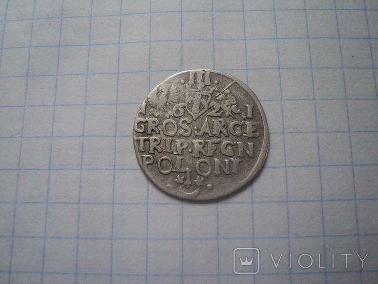 Трояк 1621 г, фото №6