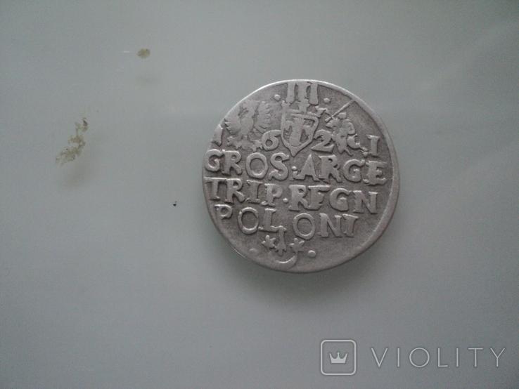 Трояк 1621 г, фото №8