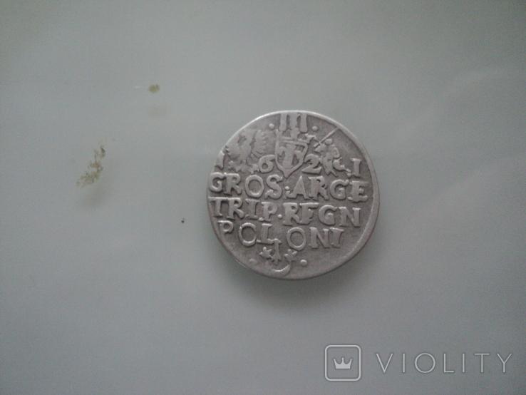 Трояк 1621 г, фото №9