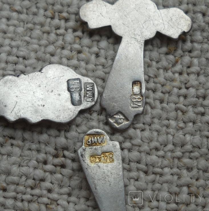 Крестики царизм 84 пробы, фото №4
