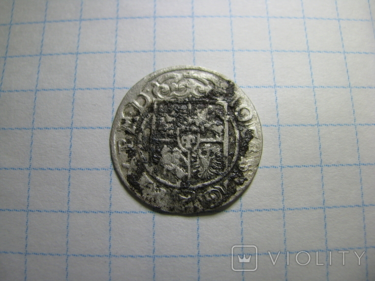 Півторак 1662 р. Казимира (рік по кругу), фото №6