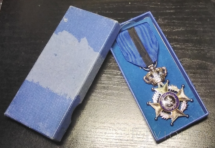 Бельгия. Орден Леопольда II. Серебро 950, фото №9