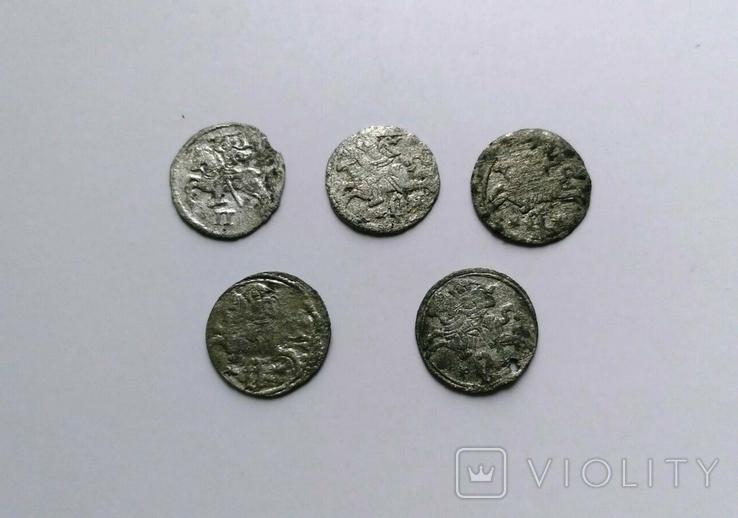 Двуденарии 1570, 1620, 1621 годы, фото №3