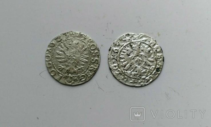 Коронный грош 1623, 1624 г, фото №3