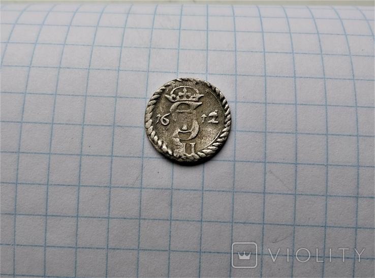 Двуденарий 1612 года, фото №3