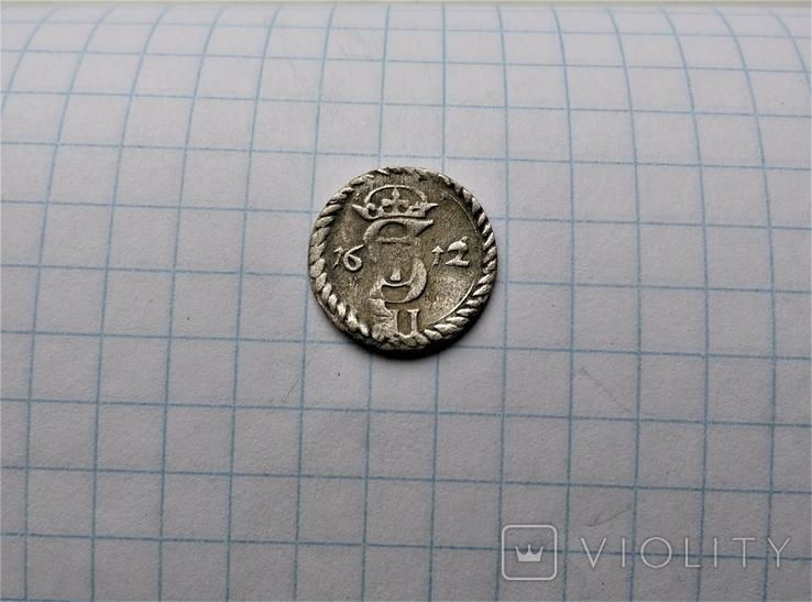 Двуденарий 1612 года, фото №4