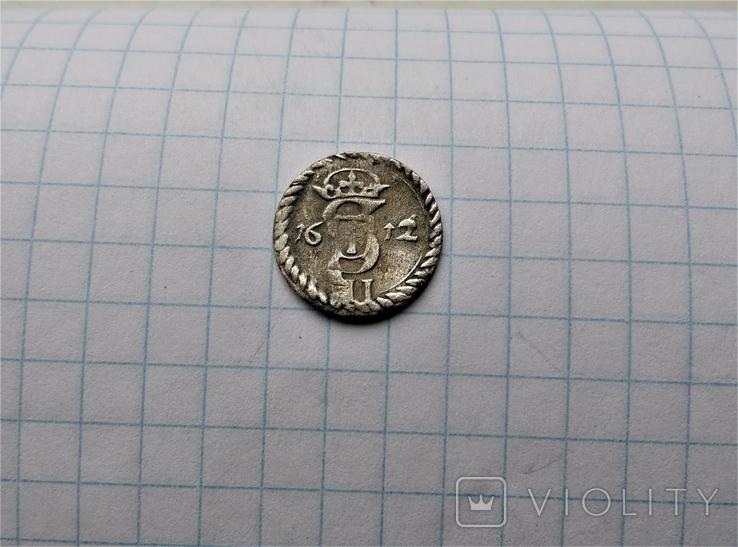Двуденарий 1612 года, фото №7