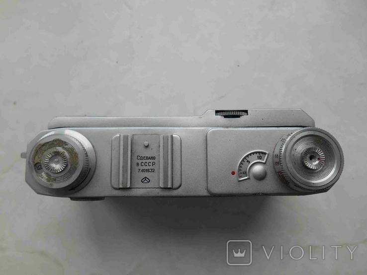 Фотоаппарат Киев 4А с футяром, корпус на запчасти, фото №3