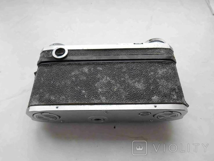 Фотоаппарат Киев 4А с футяром, корпус на запчасти, фото №4