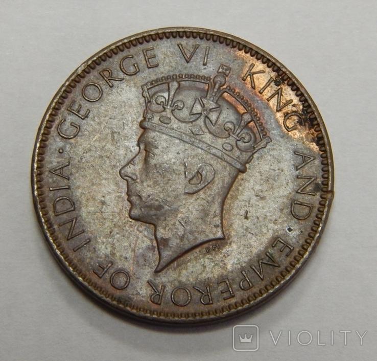 1 цент, 1940 г Цейлон, фото №3