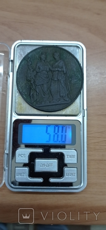 Медаль LOUIS-PHILIPPE I за героическую Польшу 1831 г., фото №6
