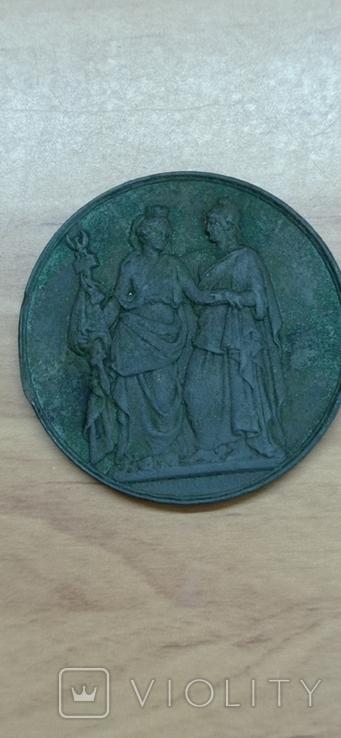 Медаль LOUIS-PHILIPPE I за героическую Польшу 1831 г., фото №7
