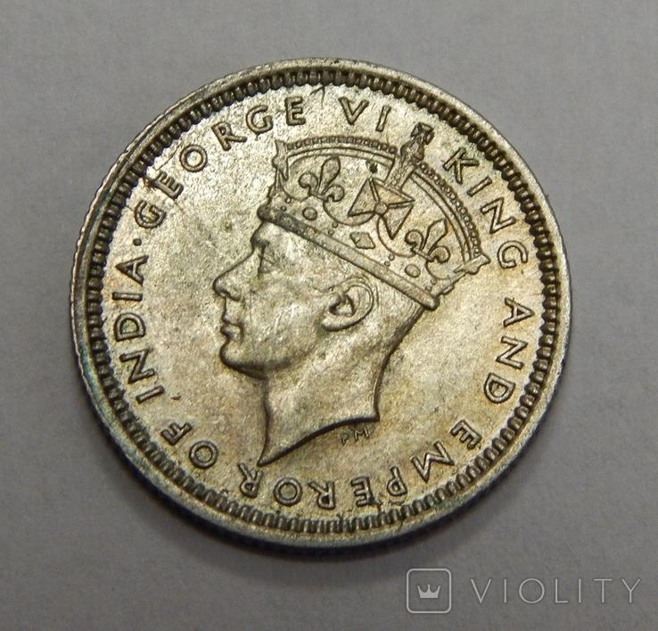 5 центов, 1943 г Британская Малая, фото №3
