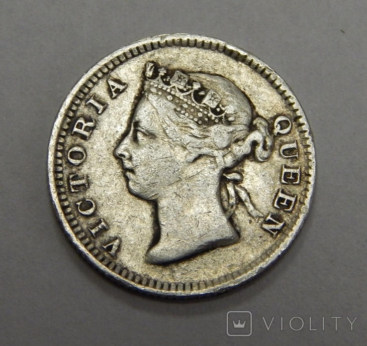 5 центов, 1899 г Гон-Конг, фото №3