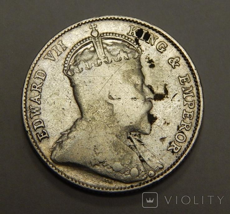 20 центов, 1910 г Стреитс Сеттлмент, фото №3