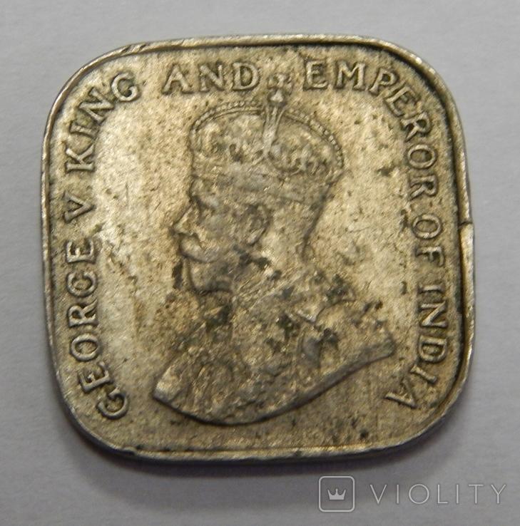5 центов, 1912 г Цейлон, фото №3