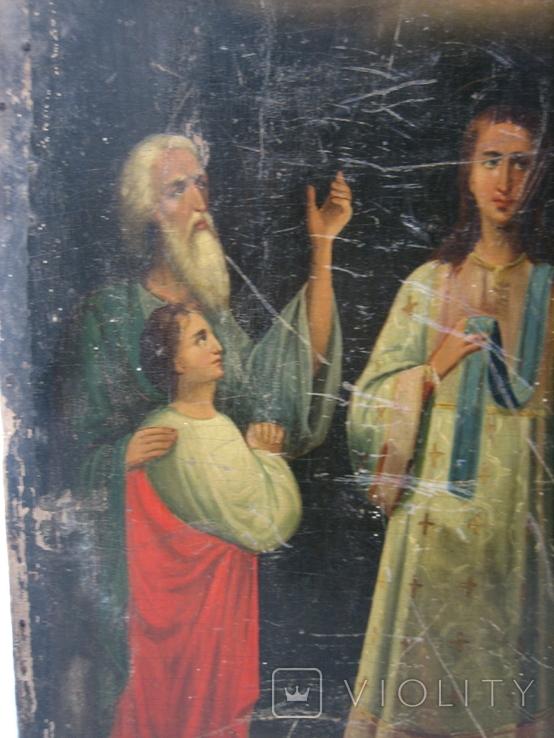 Икона Покров большая 32 х 43 см, фото №5