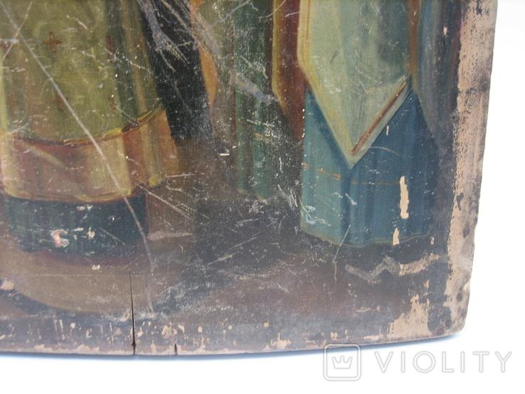 Икона Покров большая 32 х 43 см, фото №6