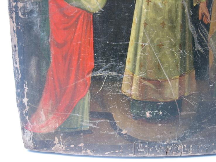 Икона Покров большая 32 х 43 см, фото №7