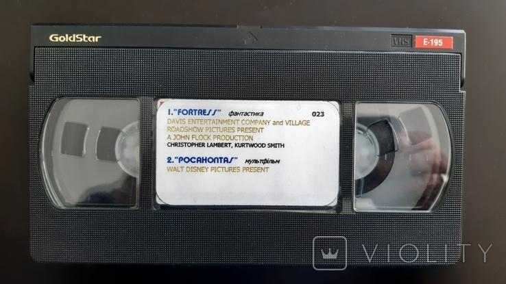 Відеокасета GoldStar SHQ E-195, фото №3