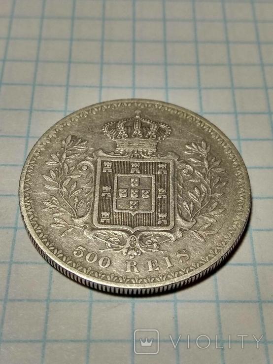 Португалия, 500 реалов, 1899 год, Карлуш I, фото №7