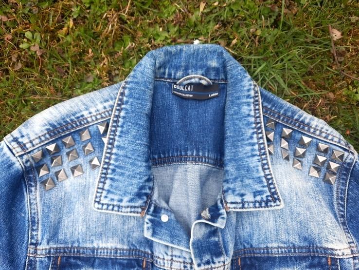 Джинсова куртка Coolcat., фото №3