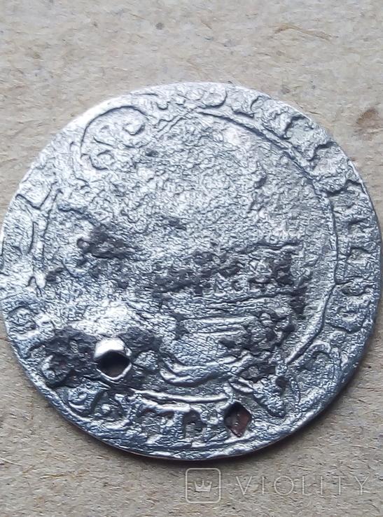 Шестак(шесть грошей) 1626 года серебро, фото №6