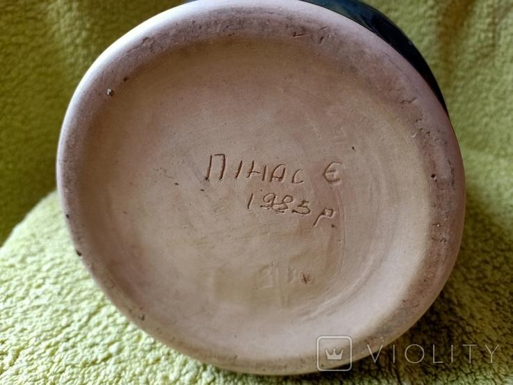 Кружка пивная львовская керамика ЛКСФ, авторская - Пінас, 1983, фото №10