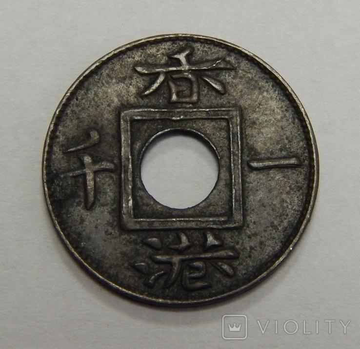 1 мил, 1866 г Гон-Конг, фото №3