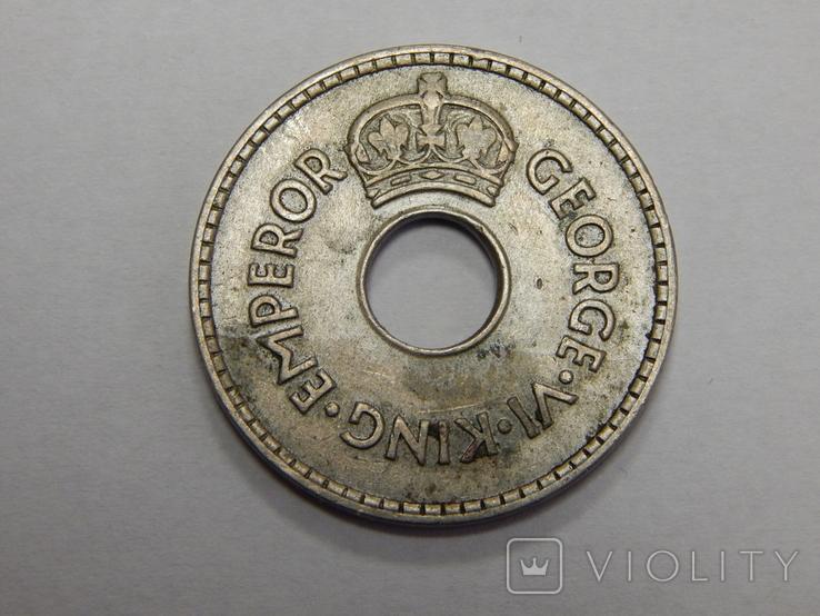 1 пенни, 1937 г Фиджи, фото №3