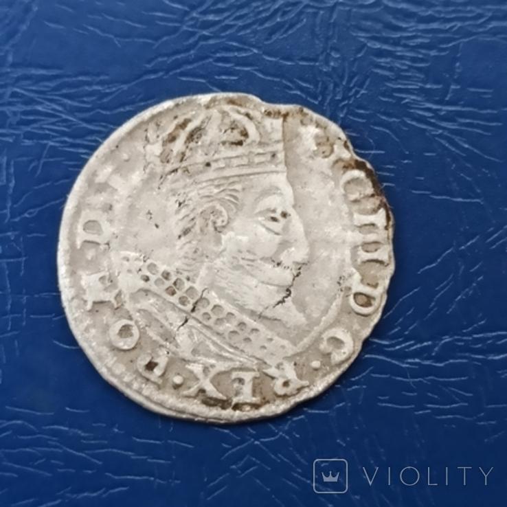 Грош 1607 г., фото №3