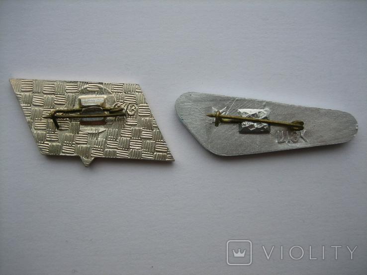 "Значки самолеты ""Ту-134"" ""Ан-24"" (2шт.), фото №3"