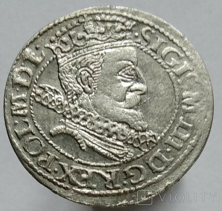 грош 1606, Краків, фото №2
