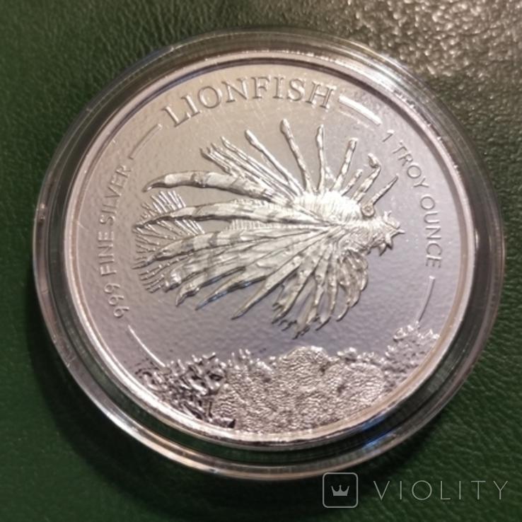 1 доллар 2019 р.Барбадос, фото №2