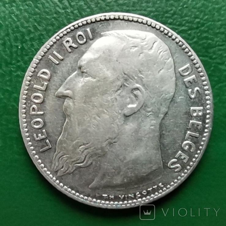 1 франк 1909г.БельгияDES, фото №3