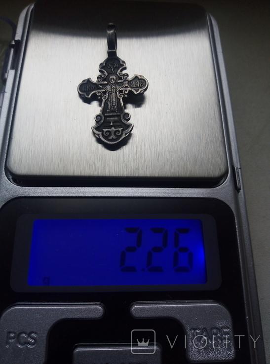 Старый серебренный крестик, фото №8