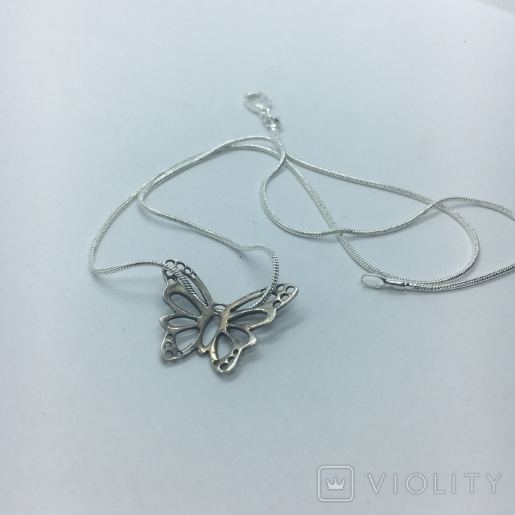 Кулон серебро, фото №6