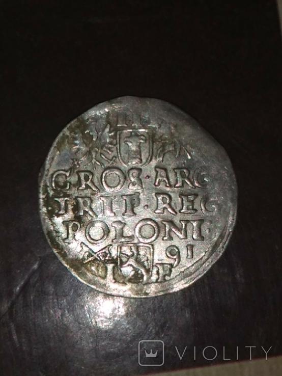Трояк 1591, фото №2