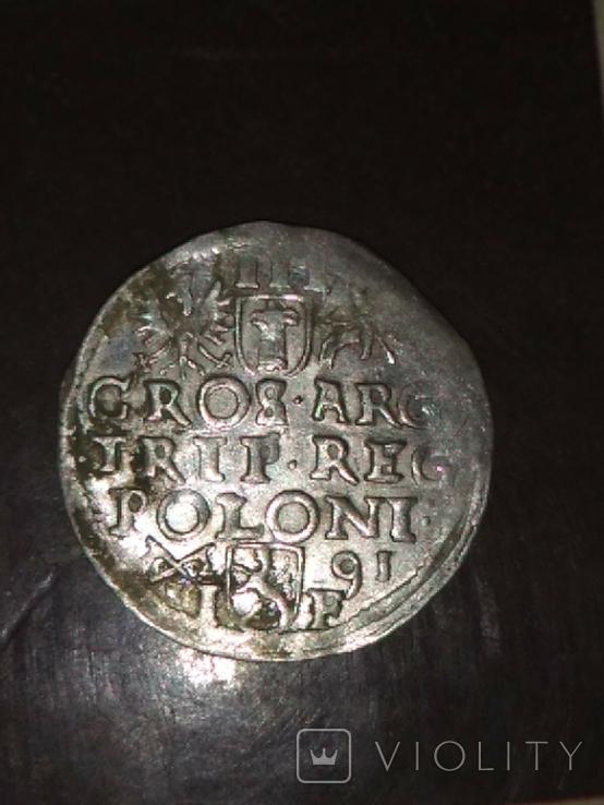 Трояк 1591, фото №3