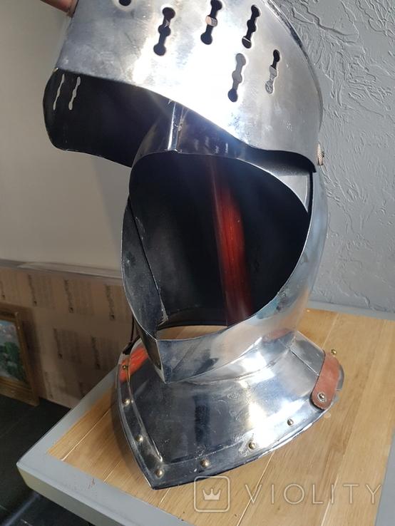 Рыцарский шлем реплика, фото №5