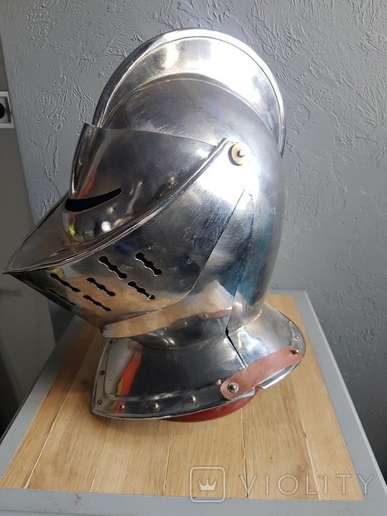 Рыцарский шлем реплика, фото №7