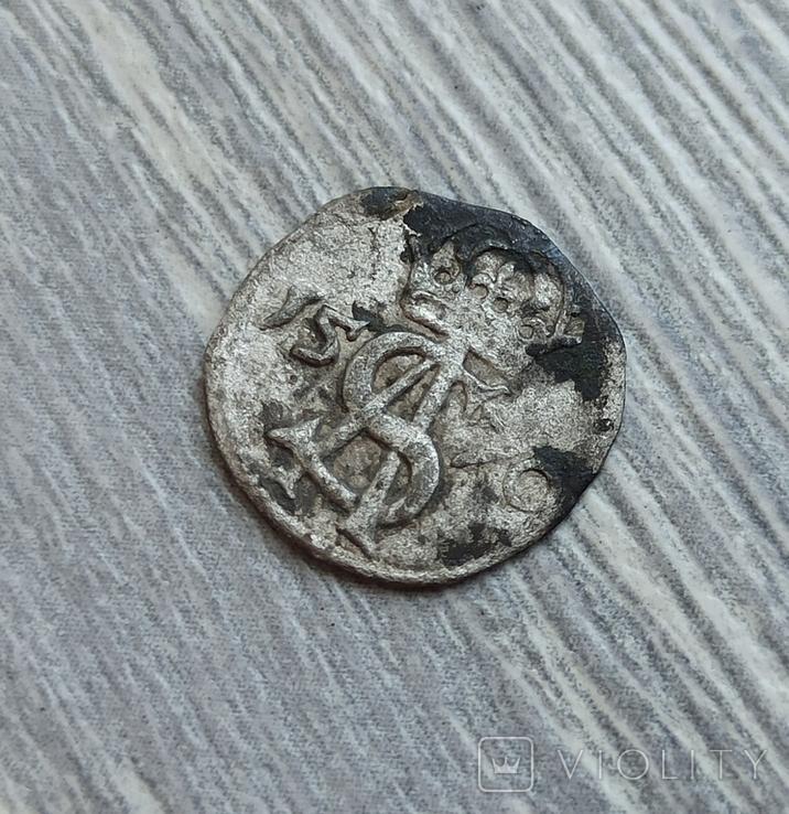 Двуденарий 1570 г., фото №2