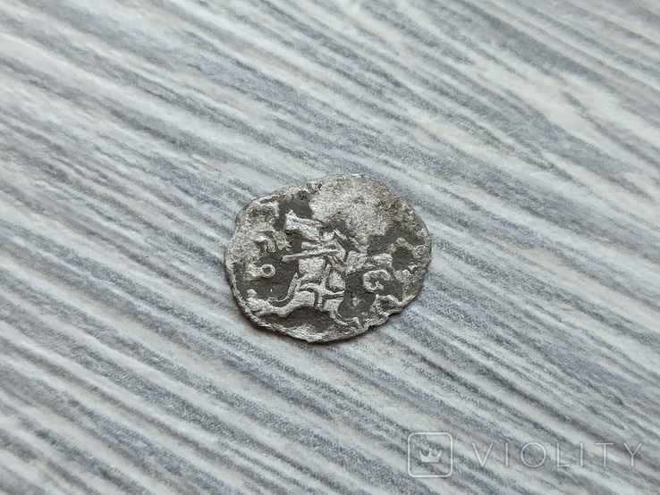Денарий 1558 г., фото №3