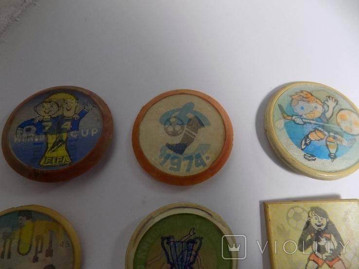 6 -двойных знаков -динамо- футбол -ссср и другое, фото №3